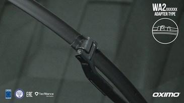 Instrukcja montażu wycieraczek OXIMO - Zaczep typu A2
