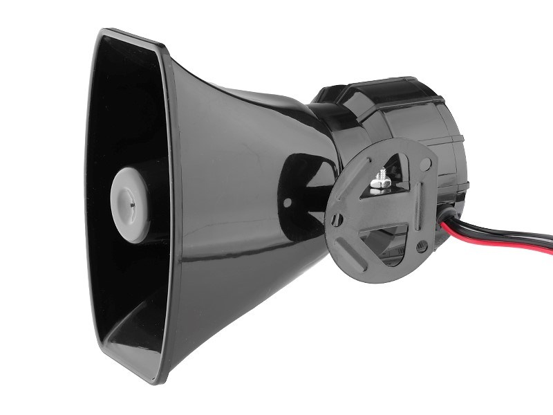Syrena elektroniczna z megafonem, 7-tonowa